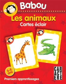 Photo of Cartes éclair Babou - Les animaux