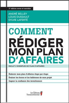 Photo of Comment rédiger mon plan d'affaires, 3e édition