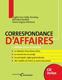 Photo of Correspondance d'affaires, 2e édition revue et enrichie