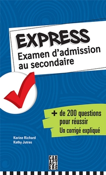 Photo of Express - Examen d'admission au secondaire
