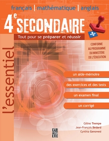 Photo of L'Essentiel 4e secondaire
