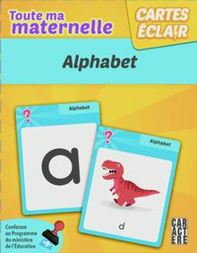 Photo of Cartes éclair - Maternelle - Alphabet