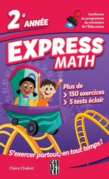 Photo of Express Math - 2e année - Nouvelle édition
