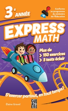 Photo of Express Math - 3e année - Nouvelle édition