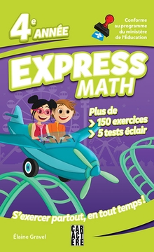 Photo of Express Math - 4e année - Nouvelle édition