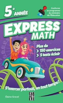 Photo of Express Math - 5e année - Nouvelle édition