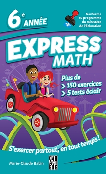 Photo of Express Math - 6e année - Nouvelle édition