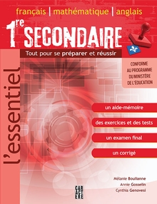 Photo of L'Essentiel 1re secondaire