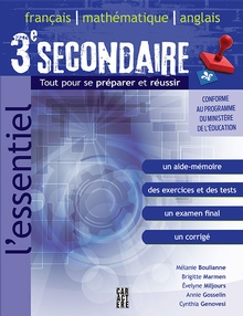 Photo of L'Essentiel 3e secondaire