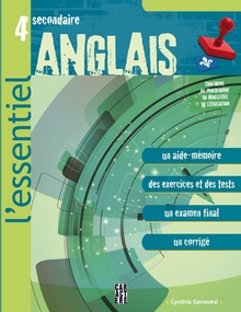 Photo of L'Essentiel - Anglais - 4e secondaire