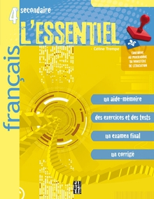 Photo of L'Essentiel - Français - 4e secondaire