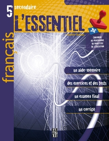 Photo of L'Essentiel - Français - 5e secondaire