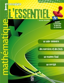 Photo of L'Essentiel - Mathématique - 1re secondaire