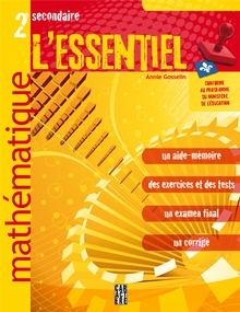 Photo of L'Essentiel - Mathématique - 2e secondaire