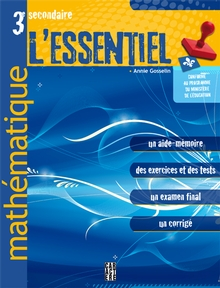 Photo of L'Essentiel - Mathématique - 3e secondaire