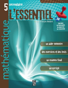 Photo of L'Essentiel - Mathématique - 5e secondaire