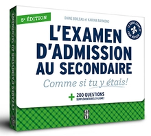 Photo of L'examen d'admission au secondaire - 5e édition