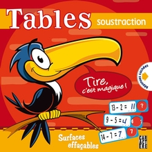 Photo of Tables - Soustraction
